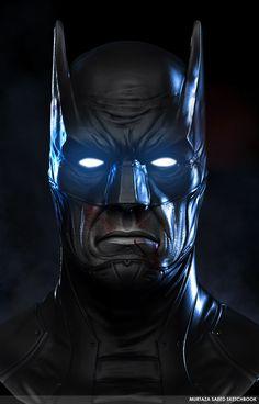 Batman, Murtaza Saeed on ArtStation at https://www.artstation.com/artwork/oPNLO