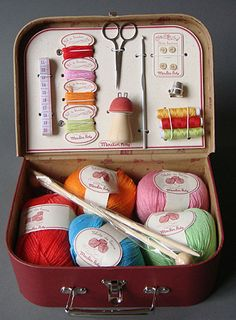 Craftfoxes offers some helpful pointers on teaching kids to knit, starting at age 5 or 6.
