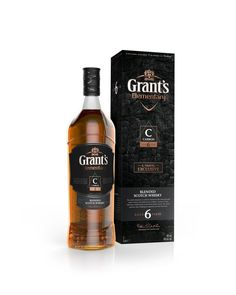 Agency: Webb deVlam  Project Type: Produced, Commercial Work  Packaging Content: Whisky   GRANT'S UNVEILS NEW ELEMENTARY RANGE WITH STRIKI...