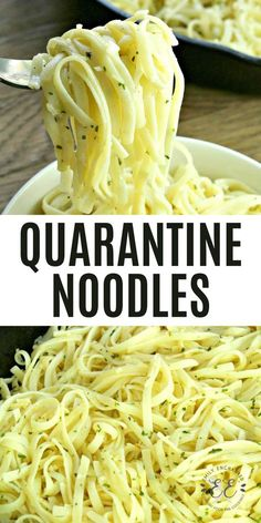 These Garlic Parmesan Noodles are so easy to make and contain all the ingredients you want in basic noodles. These buttery noodles will be loved by the whole family! Easy Pasta Recipes, Side Dish Recipes, Easy Meals, Cooking Recipes, Recipe Pasta, Butter Noodle Recipe, Pasta Side Dishes, Pasta Sides, Food Dishes