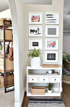 Entryway Decor Ideas at the36thavenue.com                                                                                                                                                                                 Más