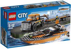 Comparez les prix du LEGO City 60085 Le 4x4 avec hors-bord avant de l'acheter ! Infos, description, images, vidéos et notices du LEGO 60085 Le 4x4 avec hors-bord sur Avenue de la brique