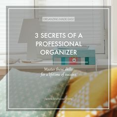 We all want to be organized right? But, if you're like me you get about halfway through a project and give up. That is until I learned these 3 Secrets of a Professional Organizer. To be successful you need… Continue Reading →