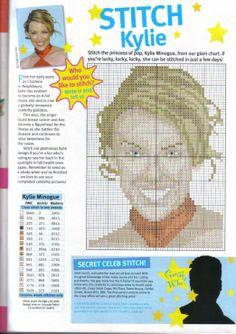 sandylandya@outlook.es kylie Minogue Cross Stitch Chart