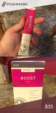 Thrive Boost - 21 individual packets  supplement 21 packets of Boost by Thrive - former Thriver. Unused leftover stock. Other