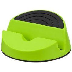 Orso mediahouder lime groen,zwart 12349304  Orso mediahouder. Stijlvol ontwerp bedoeld als mediahouder voor mobiele apparaten en tablets. Ideaal om fil...