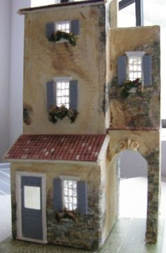 Provfinishedfront (jt-Arch de Provence -.made from a kit by Sue Herber)