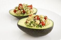 Quinoa Salad Stuffed Avocado