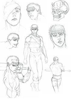 """Berserk sketches"" by Genbaku.deviantart.com on @DeviantArt"
