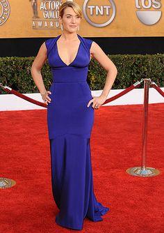 Kate Winslet, SAG Awards. #redcarpet