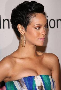 Quick Black Hairstyles For Short Hair ~ http://wowhairstyle.com/black-hairstyles-for-short-hair/