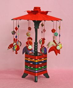 Fun Crafts, Paper Crafts, Doll Toys, Dolls, Baubles And Beads, Craft Fairs, Japanese Art, Mobiles, Fiber Art
