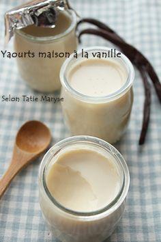 Recette des yaourts maison, selon Tatie Maryse