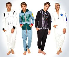 Star Wars Adult Onesies Going to bed will turn into the best part of the day once you begin sleeping in the Star Wars adult onesies. Star Wars fans will be able to dress up like Boba Fett, Vader, a. Stormtrooper, Darth Vader, Star Wars Film, Star Trek, Boba Fett, Chewbacca, Star Wars Onesie, Moda Masculina, Outfits
