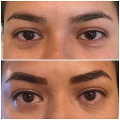 #mondaymotivation with some #microblading and #permanenteyeliner by our Trista  @thebrowsandthebeautiful -  Microbladed brows ✔️ Softap top eyeliner ✔️ Smudgeproof ✔️ Minutes shaved off daily routine ✔️ Loved working on my sisters gorgeous face. Lines and color will fade about 40%  .  .  .  .  .  .  . #permanentcosmetics #permanenteyeliner #microblading #microbladingbrows #brows #browshaping #softap #pmu #mua #eyeliner #esthetician @tashamarie_mua - #regrann