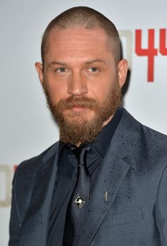 Tom Hardy attends the UK Premiere of 'Child 44' at Vue West End on April 16, 2015 in London.