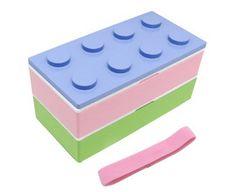 Lunch-a-porter - Pastel Block Bento, $32.95 (http://www.byobento.com/pastel-block-bento/)