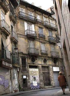 Edificios abandonados en Valencia