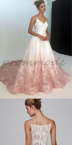 Elegant A Line White Lace Applique Sexy Prom Dresses For Teens,Evening Dresses,Party Dresses,PDY0332#prom dresses#