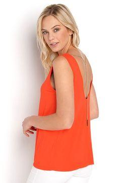 Mega seje Happy Holly Bluse Kristina Oranger?d Happy Holly Overdele til Outlet til hverdag og til fest