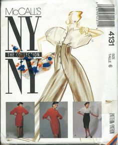 McCall's 4131 NY Collection Dress and by DawnsDesignBoutique