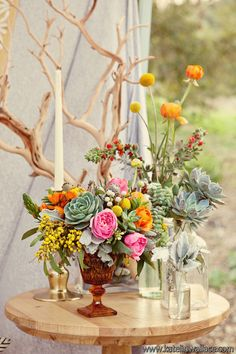 bohemian inspiration - Art with Nature Floral Design and Katelin Wallace Photography featured on Green Wedding Shoes