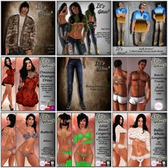 THIRD LIFE [ Frees, Gifts & Hunts ]: IT'S GAU - MALE & FEMALE GIFTS