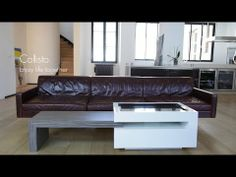 Callisto, the first touch coffee table for friends and family