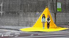이마트, '옐로카펫'으로 어린이 교통사고 예방 나선다    -전국 20개소에 옐로카펫 설치