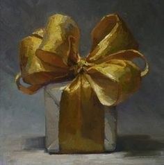 the world gives me gifts everyday! (painting by Karen Appleton) Illustration Art, Illustrations, Shades Of Gold, Touch Of Gold, Mellow Yellow, Christmas Art, Painting Inspiration, Still Life, Creations
