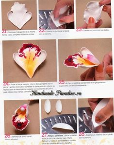 Diy Crafts - VK is the largest European social network with more than 100 million active users. Our goal is to keep old friends, ex-classmates, neighb Making Fabric Flowers, Crepe Paper Flowers, Felt Flowers, Flower Making, Diy Flowers, Reuse Plastic Bottles, Plastic Bottle Flowers, Fondant Rose Tutorial, Crafts To Make