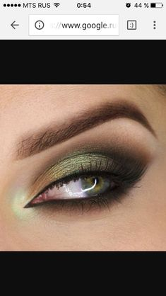 Green with envy #greeneyeshadows