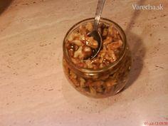 Orechy v mede - fantastická energetická bomba (fotorecept) - recept Russian Recipes, Ale, Desserts, Polish, Food, Pump, Enamel, Meal, Ale Beer