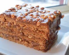 Snickerskake - noe av det beste jeg vet! | Gladkokken Food Cakes, Cookie Recipes, Dessert Recipes, Norwegian Food, Types Of Cakes, Pudding Desserts, Snacks, Let Them Eat Cake, Cheesecakes