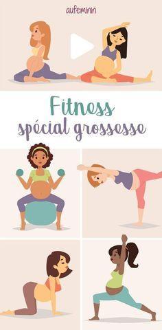 Etre enceinte n'est pas une maladie, on peut continuer à bouger et même à faire du sport. Voici quelques exercices sportifs (ou pas) à faire pendant la grossesse.