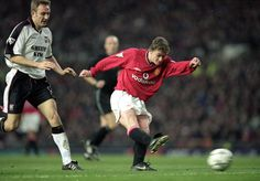 Ole Gunnar Solskjaer stepped off the bench for the first time two decades ago…
