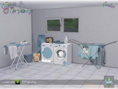 Sims 4 CC's - The Best: The Laundry - Goodies by BuffSumm