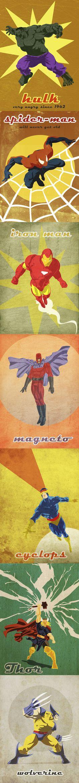 Vintage Marvel Comics Fan Art :: [communityconnectnj.com]