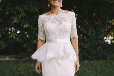 Delicadeza da renda! <3 Casamento no museu | Revista.Casare