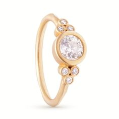 Seven Diamond Ring by Rebecca Overmann