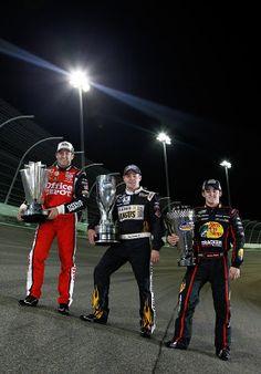 2011 Nascar Champs..Tony Stewart, Ricky Stenhouse, Jr., Austin Dillon