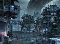 Sci-fi slum