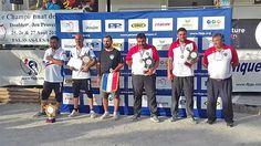 """""""Championnat de France Doublettes Provençal 2017 à Palavas-les-Flots : Le Podium"""""""