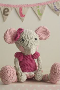 Ballerina-mouse is a true and trustful friend for little girls. Her cute pink ears are ready to hear all the most secret dreams. She is perfect for playing as well as hugging. Ballerina-mouse wears non-removable clothes - leotard with puffed sleeves, ruffled skirt and ballerina shoes.