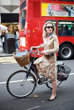 London cycle chic