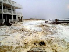 Sven Peltonen from Brigantine Beach took this photo as Hurricane Sandy approaches Southern New Jersey, Monday Oct. 29, 2012