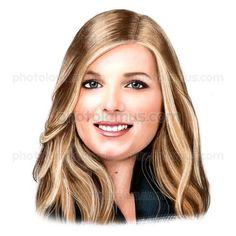Beautiful face Caricature by Photolamus