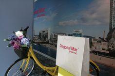 APARADOR  d´estiu al Centre Comercial Diagonal Mar Barcelona 2015. de M.P Escaparatistas