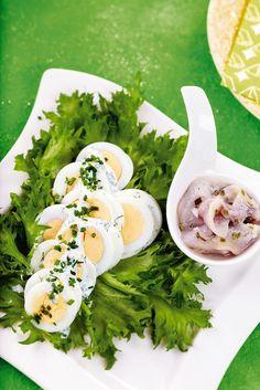 Sitruunainen kananmunasalaatti | K-ruoka #pääsiäinen