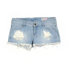 Pre-owned Siwy Denim Shorts ($19) ❤ liked on Polyvore featuring shorts, blue, siwy, jean shorts, blue shorts, blue denim shorts and denim short shorts